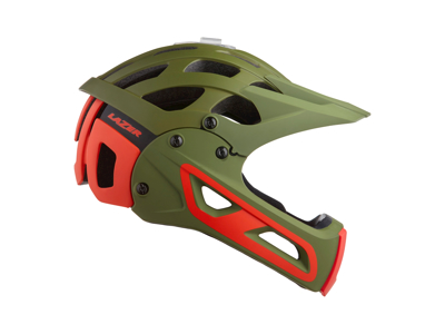 Lazer Rev FF MIPS - Cykelhjelm BMX/Downhill - Mat khaki orange