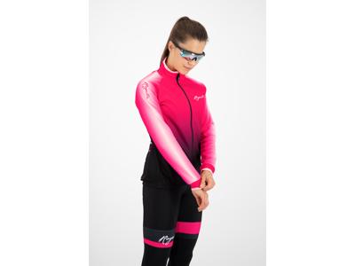 Rogelli Glow - Vinterjacka kvinnor - 0 till 10 grader - Svart / rosa