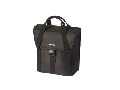 Basil Go Single bag - Cykeltaske - 16 liter - Solid black