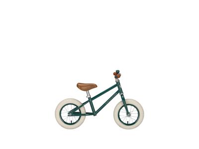 """EXCELSIOR - Retro løbecykel - 12"""" hjul - Dark green"""