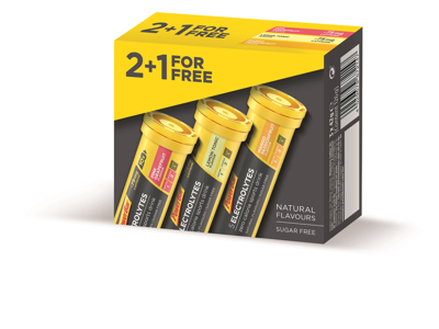 Powerbar Electrolytes Tabs - 2 + 1 Tube - Mango / Lemon / Pink Grape