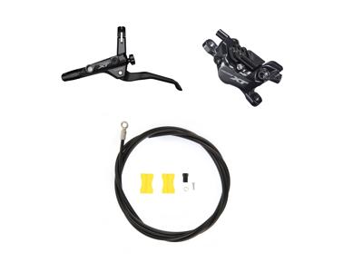 Shimano XT M8120 - Hydraulisk bremsesæt Trekking - For/venstre - 4 piston