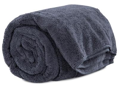 Trespass Wringin - Hurtigtørrende mikrofiber håndklæde - Grå - 70 x 135 cm