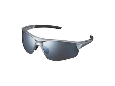Shimano Twinspark - Cykelbriller - Smoke silver mirror