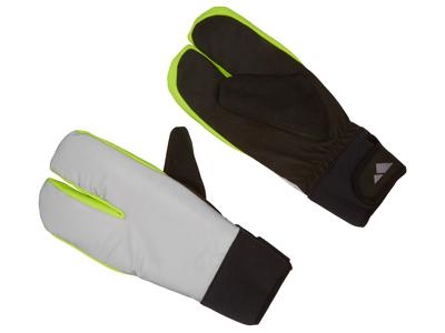 OnGear - Cykelhandske - Refleks - 3 finger - Vinter - Sølvgrå