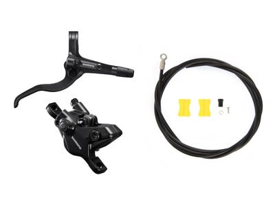 Shimano MT410 - Bremsesæt hydraulisk med 2 stempler - Bag/højre - Trekking
