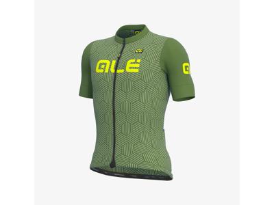 Alé Solid Cross - Cykeltröja med korta ärmar - Grön