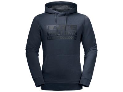 Jack Wolfskin Brand Hoody - Fleece tröja Mr.