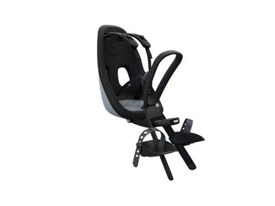 Thule Yepp Nexxt Mini - Cykelstol med 5-punktssele - Formonteret - Sort/grå