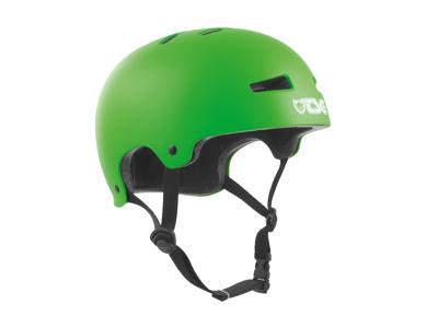 TSG Evolution - Cykel- og skaterhjelm - Satin lime grøn