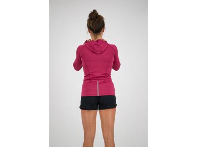 Rogelli Aura - Sports trøje hooded - Dame - Cerise/Coral