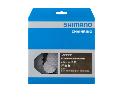 Shimano XTR - 38 tands klinge - FC-M9120 - Double - Type BH