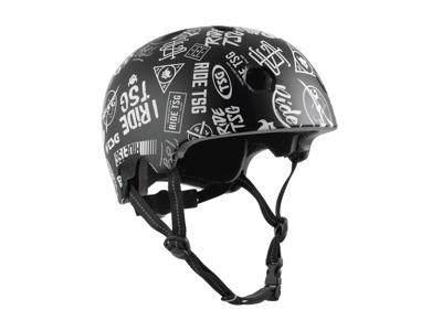 TSG Meta graphic - Cykel- og skaterhjelm - Sticky