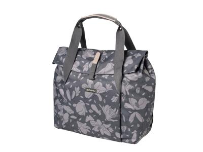 Basil Magnolia Shopper - Shoppingtaske - 18 liter - Blackberry