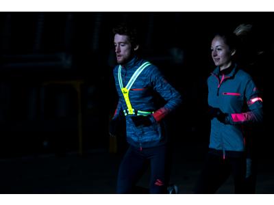 Rogelli - Sports LED vest - Gul - One size