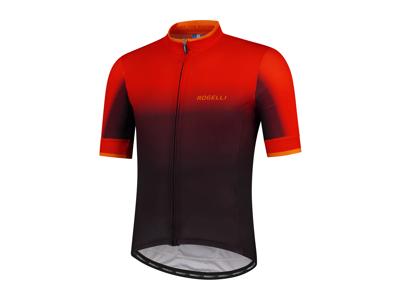 Rogelli Horizon - Cykeltrøje - Korte ærmer - Sort/Rød