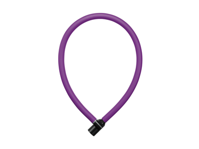 AXA Resolute 6-60 - Kabellås med nøgle - 60 cm - Royal purple