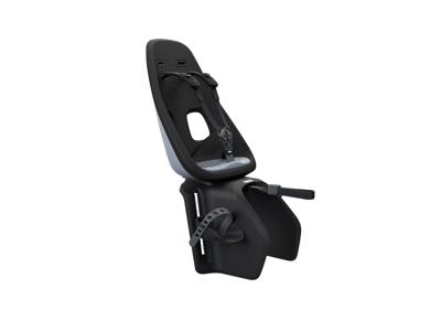 Thule Yepp Nexxt Maxi - Cykelstol med 5-punktssele - Bagagebærermonteret - Sort/grå