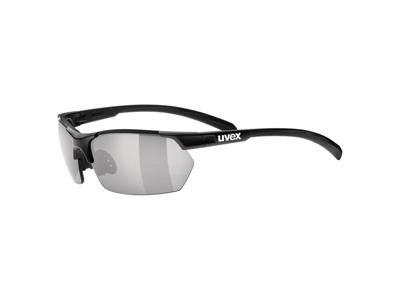 Uvex Sportstyle 114 - Cykelbriller med litemirror linser - Sort