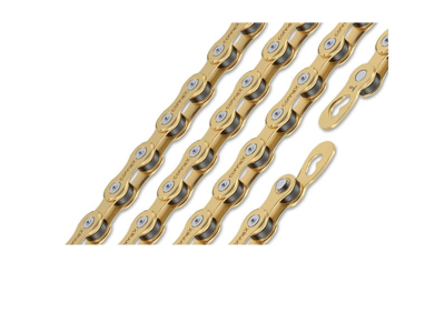 Connex kæde 9SG Gold - Til 9 gear - 114 led - inklusiv samleled