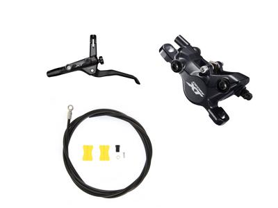 Shimano XT T8100 - Hydraulisk bremsesæt til Trekking - Front/Venstre - resin