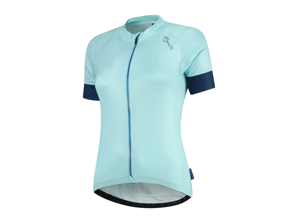Image of   Rogelli Modesta - Cykelbluse - Dame - Comfort Fit - Blå/Sort - Str. XS