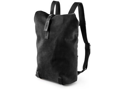 Brooks Pickwick - Daypack rygsæk - Vokset bomuld  12 liter - Sort