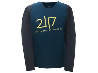 2117 OF SWEDEN Fallet - Loosefit cykeltrøje L/Æ - Blå