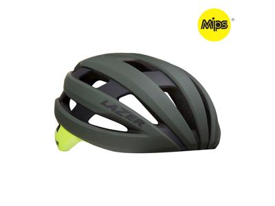 Lazer Sphere MIPS - Cykelhjelm Road - Mat mørkegrøn