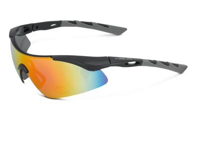 XLC - Komodo - Cykelbrille - Soft flex frame - Sort/Grå