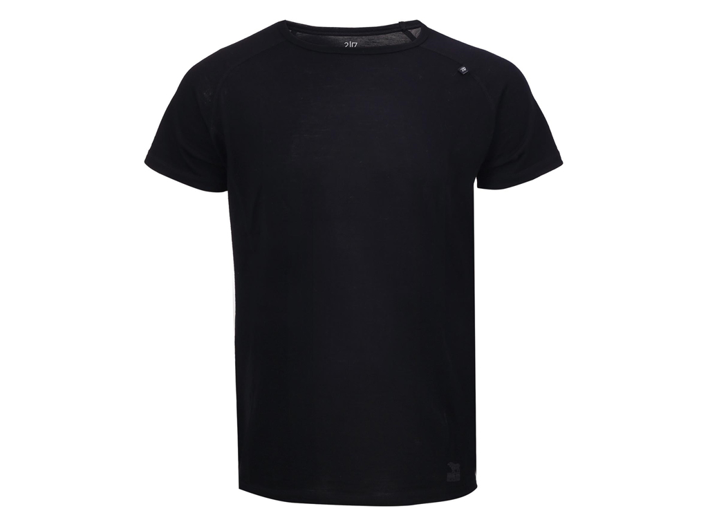 2117 OF SWEDEN Ullånger Eco - T-Shirt Merinould - Korte ærmer - Herre - Sort - Str. XL thumbnail