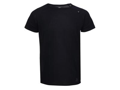 2117 Of Sweden Ullånger Eco - T-Shirt Merinould - Korte ærmer - Herre - Sort