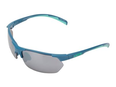Uvex Sportstyle 114 - Cykelbriller med litemirror linser - Blå