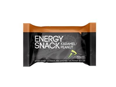 PurePower Energy Snack - Karamell / peanøtt - 60 gram