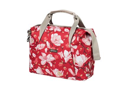 Basil Magnolia Carry All Bag - Skuldertaske - 18 liter - Poppy red
