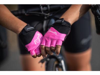 Rogelli Dolce - Cykelhandske - Dame- Gel pude - Pink