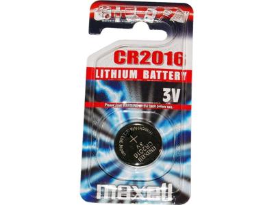 Maxell - Batteri - CR2016 Lithium 3v - 1 stk