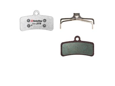Swissstop Disc 27E - Bremseklodser til E-Bike - Shimano M820/M640 - Tektro og TRP