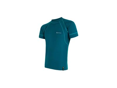 Sensor Double Face - Kortärmad tröja - Blå