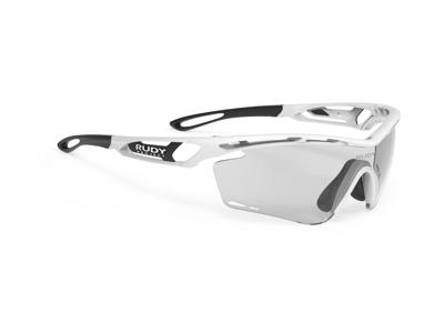 Rudy Project Tralyx - Løbe- og cykelbrille - Impactx Fotokromisk 2 - Hvid gloss