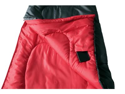 High Peak Action 250 - Sovepose - Antrazit/rød