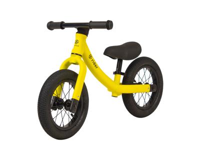 My Hood Rider- Løpesykkel med aluminiumsramme - Gul