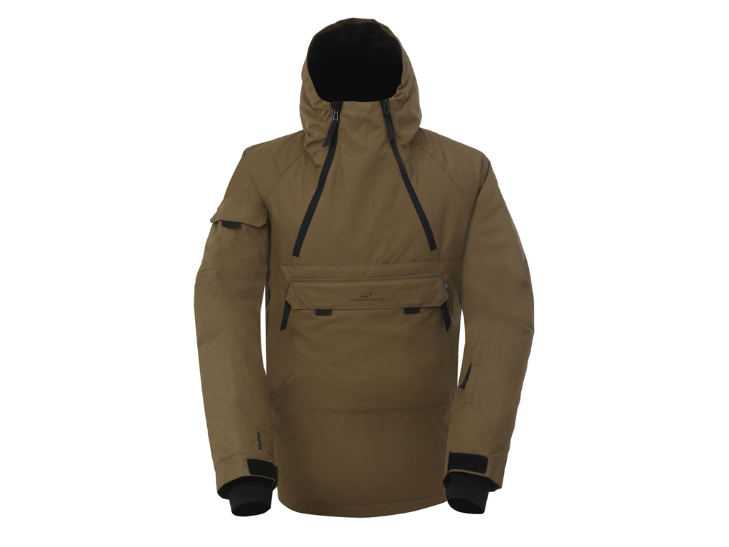 2117 OF SWEDEN Liden Eco - Anorak - Herre - Army Green - Str. L thumbnail