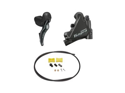 Shimano Tiagra R4725 - Skifte- og bremsegreb højre - Hydraulisk kaliber og olieslange