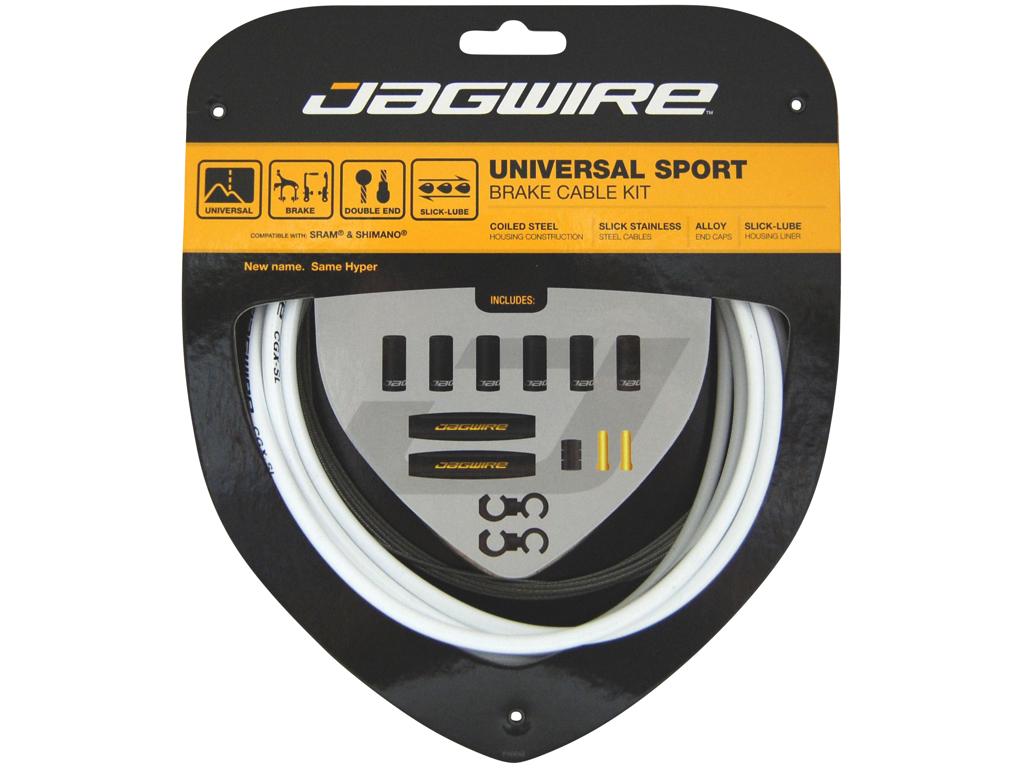 Image of   Jagwire - Universal - Bremsekabel sæt - Passer til MTB og Road - Hvid