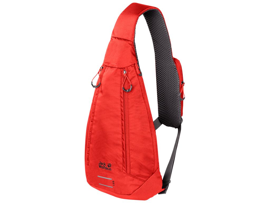 Jack Wolfskin Delta bag - Carry over taske - 4 liter - Rød thumbnail