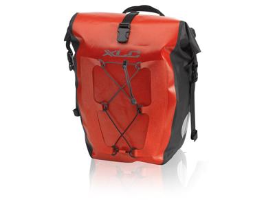 XLC - Carrier - taske til bagagebærer - 20 Liter - Rød