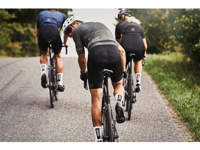 Il Biondo Road Warrier - Cykelbukser - BIB 8 timers pude - Herre - Sort
