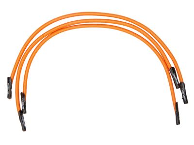 Basil Keep in place - Elastik til fastgørelse i kurven - 3 stk. Orange