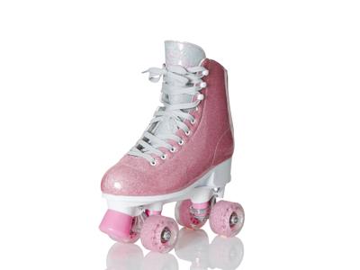 Supreme Rollers - Del Rey justerbar rulleskøyte - Rosa
